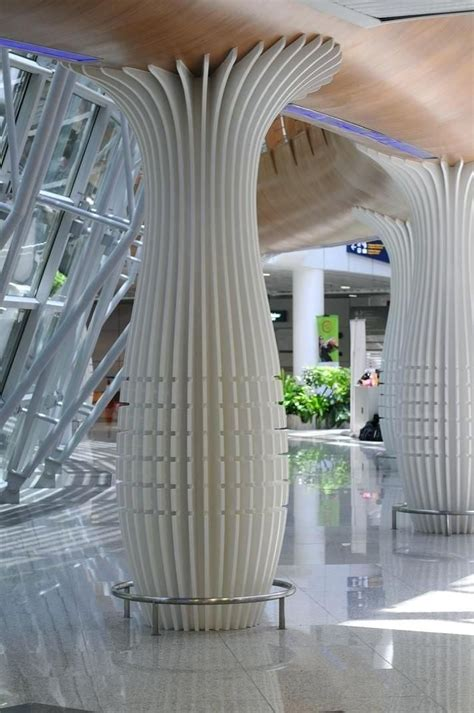 modern pillars design stylish design  interior column