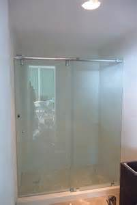 frameless bypass glass shower doors modern glass designs frameless bypass shower doors