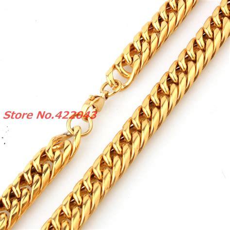 cadenas oro eslabon cubano promoci 243 n de de oro macizo cadena con eslab 243 n cubano de
