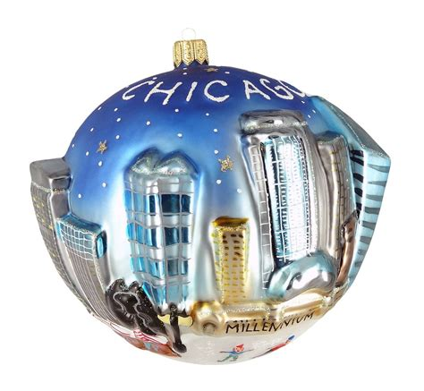 city of chicago christmas ornaments christmas ornament shop