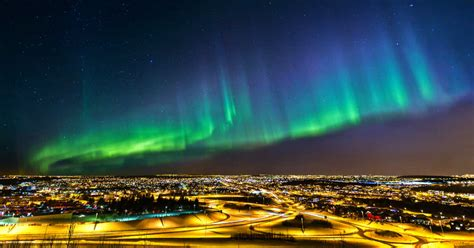 where are the northern lights visible the northern lights will be visible across the skies in
