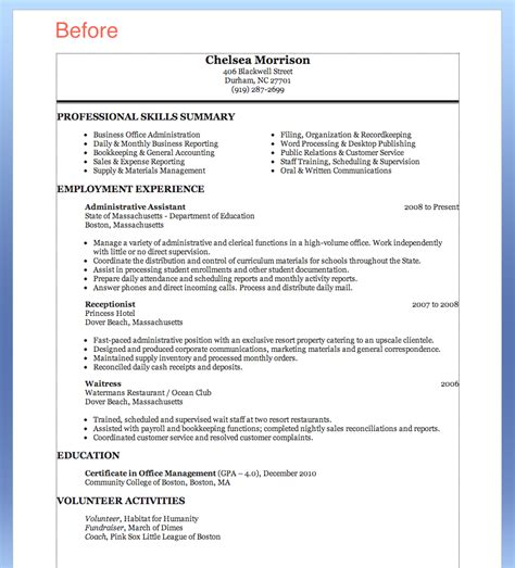 medical administrative assistant resume template with manufacturing