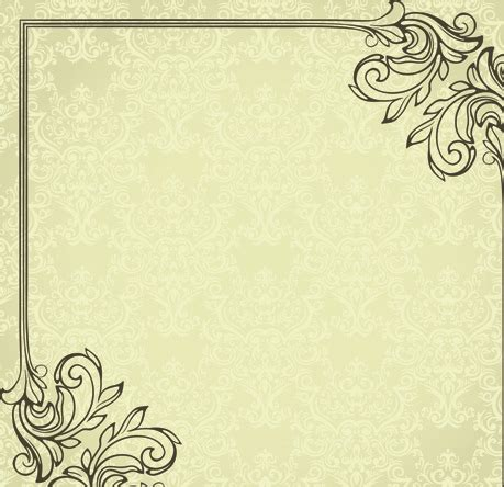 Graphic Design Frame Vector | set of delicate frames design vector graphic free vector