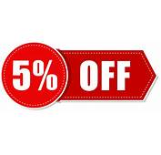 5 Percent Off Png Icon Apply Now Button Big