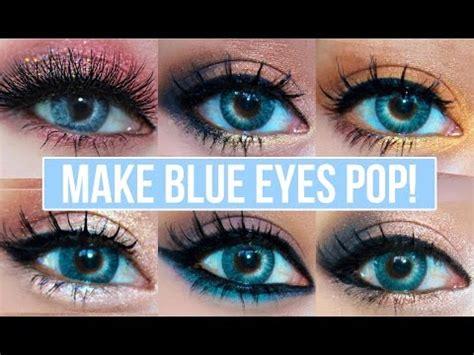 what colors make blue pop 5 makeup looks that make blue pop