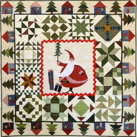 Cotton Patch Quilts by Santa S Quilt Kit And Pattern At Cotton Patch Fabrics Design By Thimblecreek Quilts