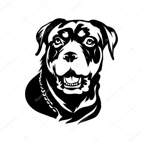 perro rottweiler precio perro rottweiler logo vector de stock 123429236 depositphotos