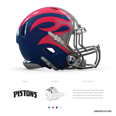 nfl helmet design rules unemployed graphic designer realizes nfl style pistons