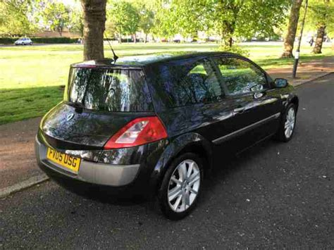 renault megane 2005 black renault clio 182 turbo car for sale