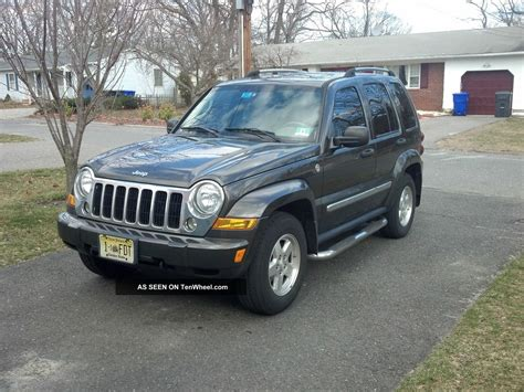 2006 diesel jeep liberty 2006 jeep liberty crd limited 4x4 turbo diesel fully loaded