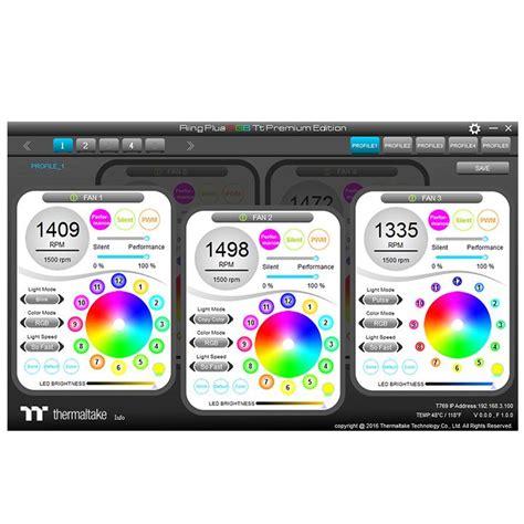 Sale Thermaltake Riing Plus 12 Rgb Tt Premium Edition riing plus 14 led rgb radiator fan tt premium edition 5 fan pack tt store