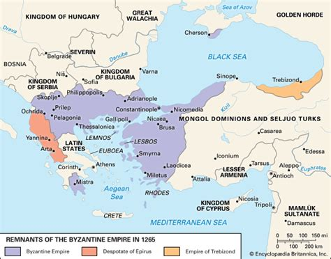 byzantine empire history geography maps facts