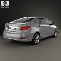 Hyundai 2012 Models Hyundai Accent I25 Sedan 2012 3d Model Humster3d