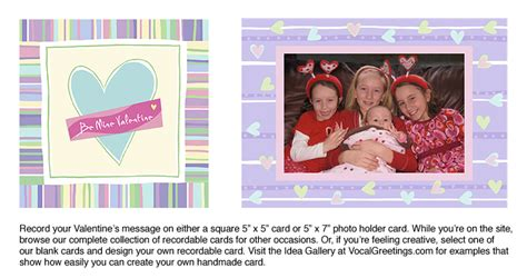 recordable valentines day cards get vocal this s day express with a