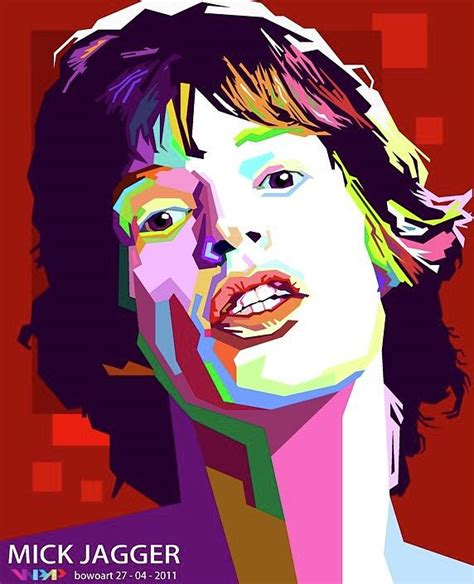 Wpap Kompany 1 by Wpap Painting By Mick Jagger