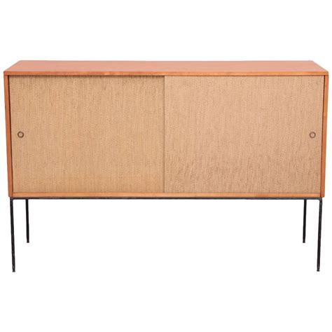 Wrought Iron Credenza paul mccobb wrought iron base credenza in maple and usa for sale at 1stdibs