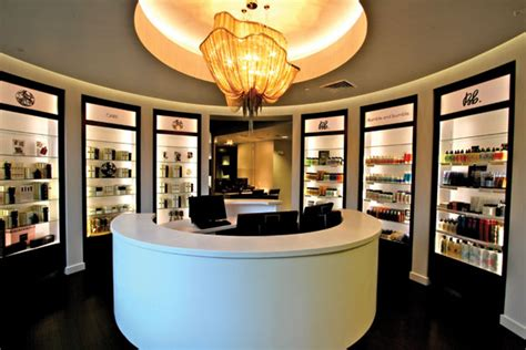 Spa Front Desk by Architects Of Design A Tale Of Two Rivers Salon Today