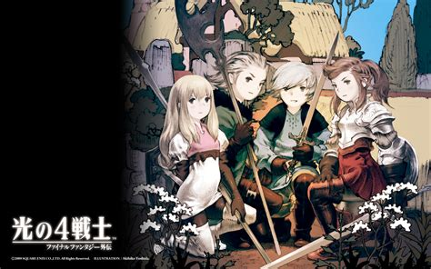 four heroes of light the 4 heroes of light wallpaper