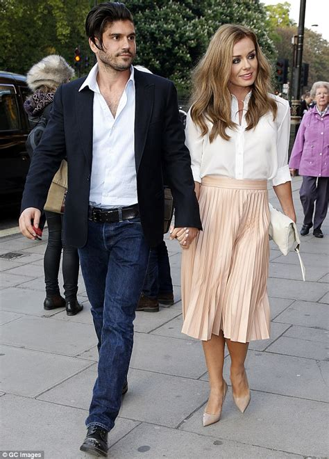 katherine jenkins and husband andrew levitas enjoy first katherine jenkins steps out with fiance andrew levitas