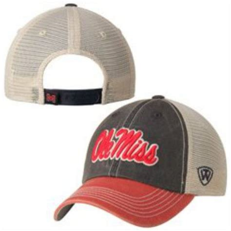 ole miss rebels top of the navy offroad adj