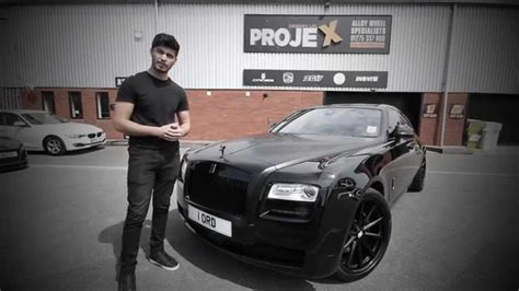 roll royce ghost all black all black rolls royce ghost by lord aleem the new quot lord
