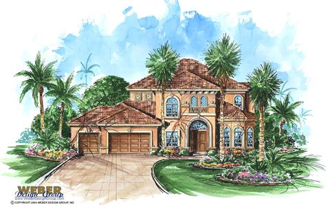 grand cayman house plan weber design