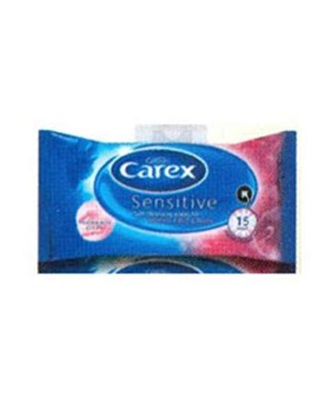 Sho Cussons cussons cussons carex sensitive wipes pakcosmetics