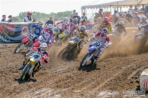 ama outdoor motocross results flashback friday hangtown 2005 is about four strokes