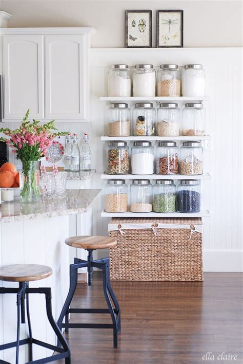 best 25 kitchen shelves ideas on open kitchen