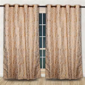Home Decor Curtains Online Cool Curtain With Stripped Printed Design And Green Sofa