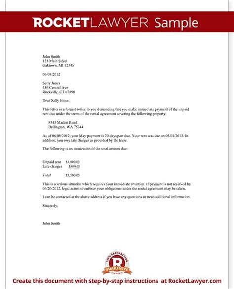 Rent Review Letter 85 Best Images About Renting On