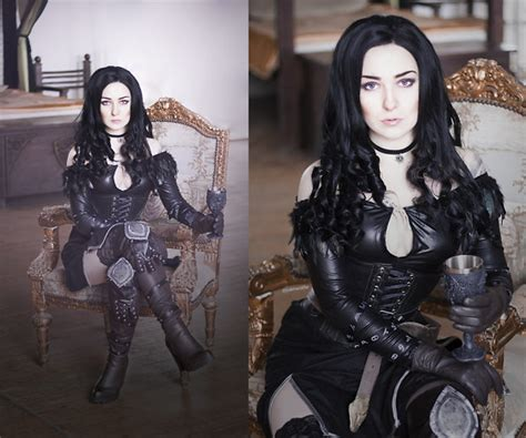 witcher 3 yennefer alternate look federica d romwe choker sweater sammydress cat socks