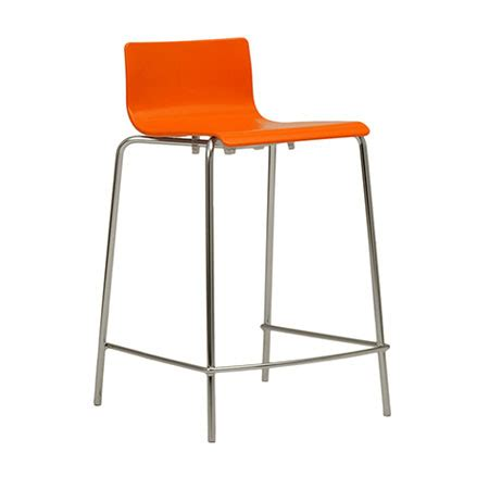 orange counter chairs lilly counter stool modern counter stools eurway