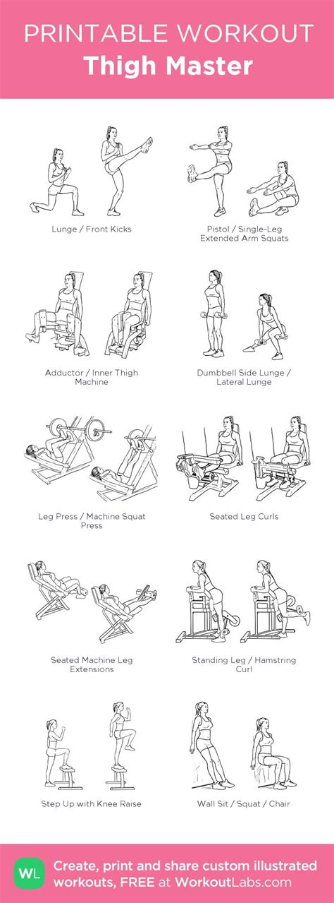 printable exercise instructions thigh master my visual workout created at workoutlabs com
