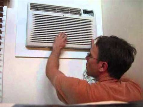 installing a new air conditioner (ac) wall unit part #3