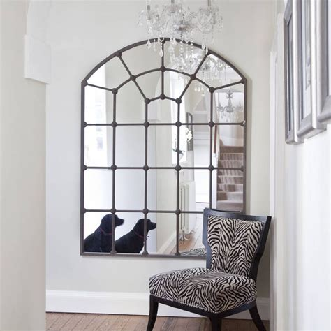 Ideas Design For Arched Window Mirror 17 Best Ideas About Window Mirror On Barn Window Ideas Foyer Table Decor And Arch