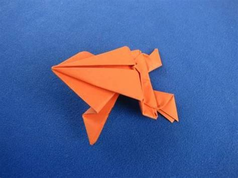 Where Does Origami Come From - origami frog ranocchia salterina 折り紙