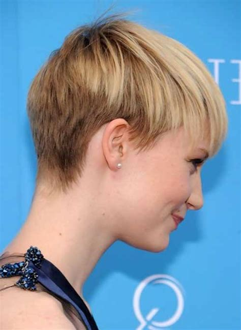 back image of very short pixie cut 20 back view of pixie haircuts pixie cut 2015