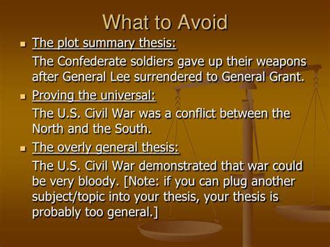 thesis statement for civil war thesis statement presentation