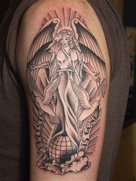 half sleeve angel tattoo designs tattoo love
