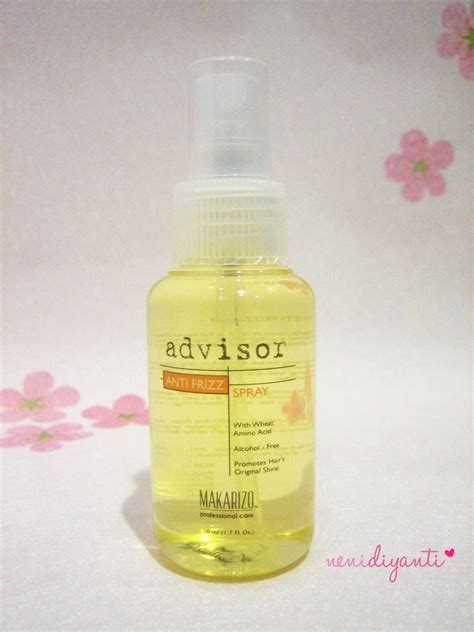 Anti Frizz Makarizo kawaii fuku makarizo advisor anti frizz spray