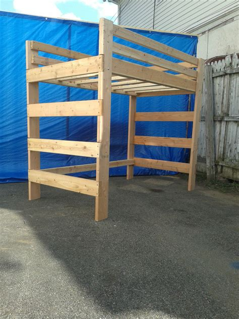 full size bunk beds for adults full size adult heavy duty loft bed extra tall extra long