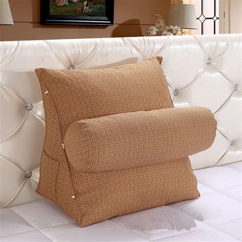 Sofa Bed Cushion Adjustable Sofa Bed Chair Rest Neck Support Back Wedge Cushion Fippillow Df Ebay