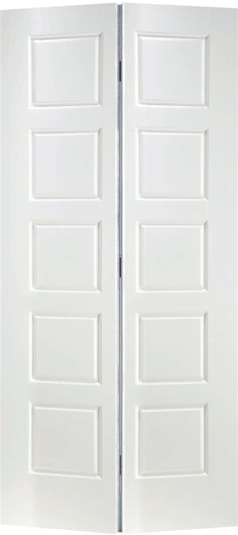 36 Inch Bifold Closet Doors Masonite 36 Inch X 80 Inch 2 Panel Smooth Bifold Door The Home Depot Canada