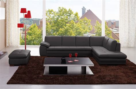 Genuine Leather Sectional Sofa by Exquisite Genuine Leather Sectional Tennessee J M