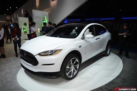 Tesla Model X Introduction Ces 2015 Tesla Model X Gtspirit
