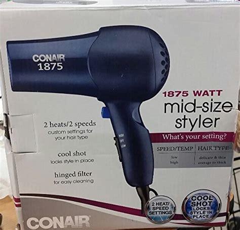 Conair Hair Dryer Deals conair mid size hair styler 1875 watts 2 heat2 speed