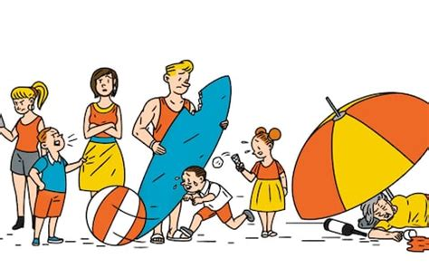 sun, sea and sulking: how to survive a family holiday