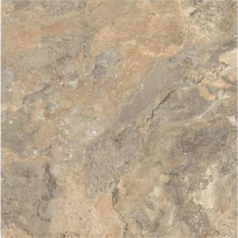 armstrong ceraroma 16 in x 16 in cliffside beige groutable vinyl tile 24 89 sq ft case