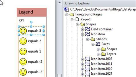 visio legend shape adding the sixth legend icon in visio 2010 bvisual for
